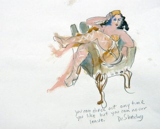 Life Drawing by Honoria Starbuck