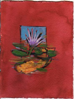 Gouache on WC paper by Honoria Starbuck 2009