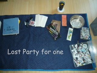 set up for my home alone lost party