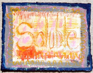 Soluble mail art for sol lewitt by honoria starbuck SP10
