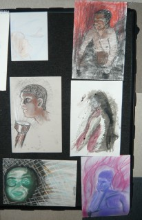 Student Drawings Anatomy NV10