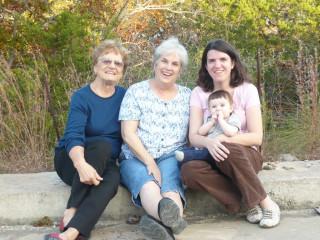 4 generations of Murphy/Mullins women - November 2010