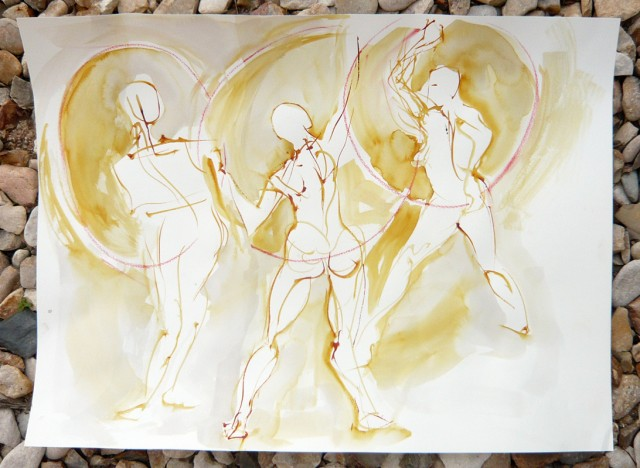 Gesture drawing by Honoria Starbuck
