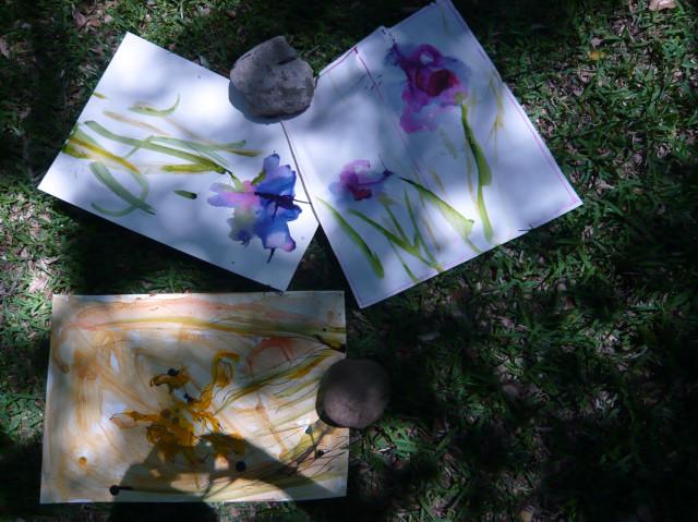 take photos as the paintings dry - honoria starbuck 2011