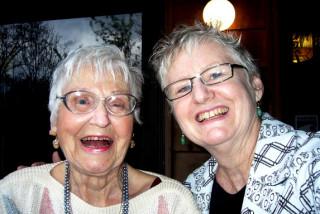 mom and honoria 2007