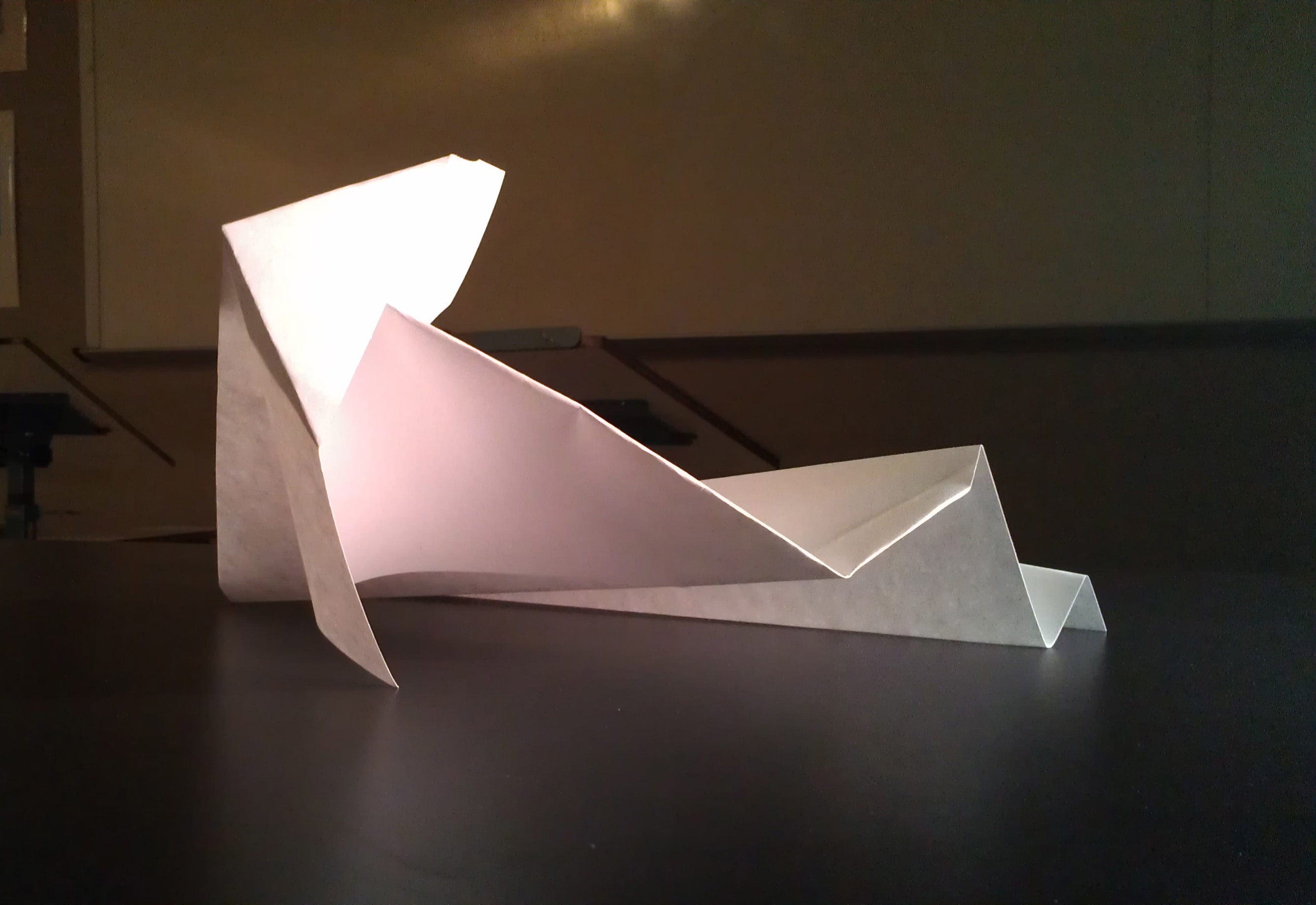 Folded Paper form for Observational Drawing