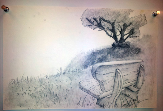 Ben D Drawing Bench Spr12