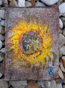 van Gogh Mail Art by Honoria 2012