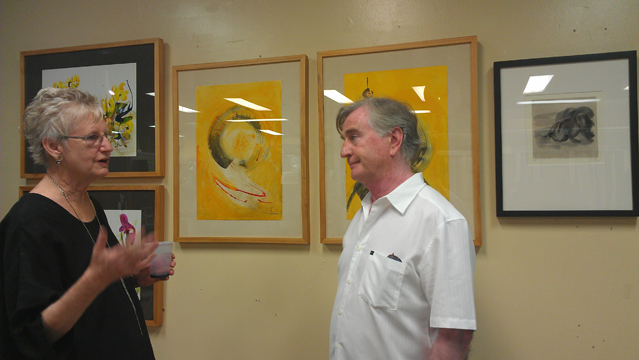 Honoria's Art Opening at Jerry's Artarama July 2012