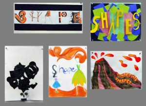 ART106 Shape posters AG12