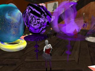 Honoria Raymaker in Zero Ball and Sylver's SL studio