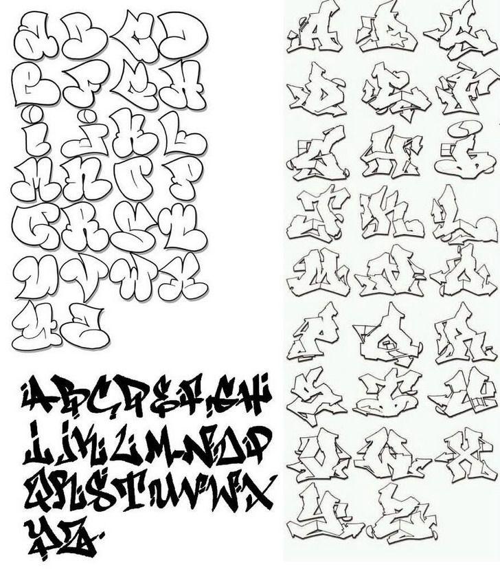 Abjad Graffiti Alphabet 3d – Fashionsneakers club
