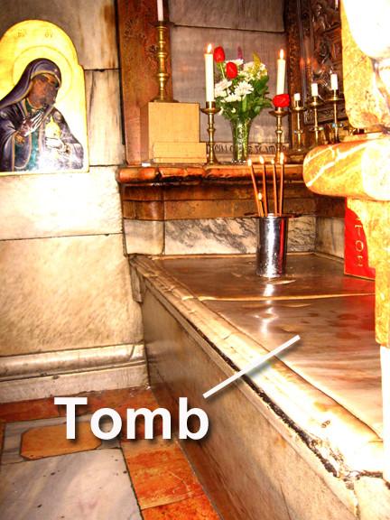 Jerusalem tomb of Jesus