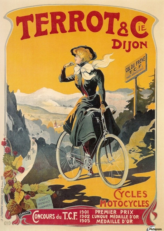900_Old French bicycle advertisement poster.jpg
