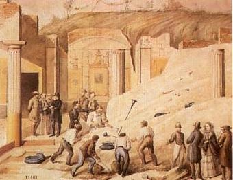 Lello_Capaldo_-_Ausgrabung_in_Pompeji