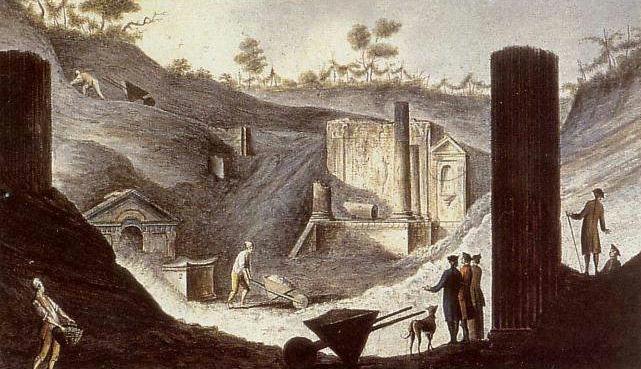 Pietro_Fabris_-_Ausgrabung_des_Isis-Tempels_in_Pompeji
