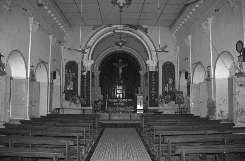 католический храм Джаффна мал