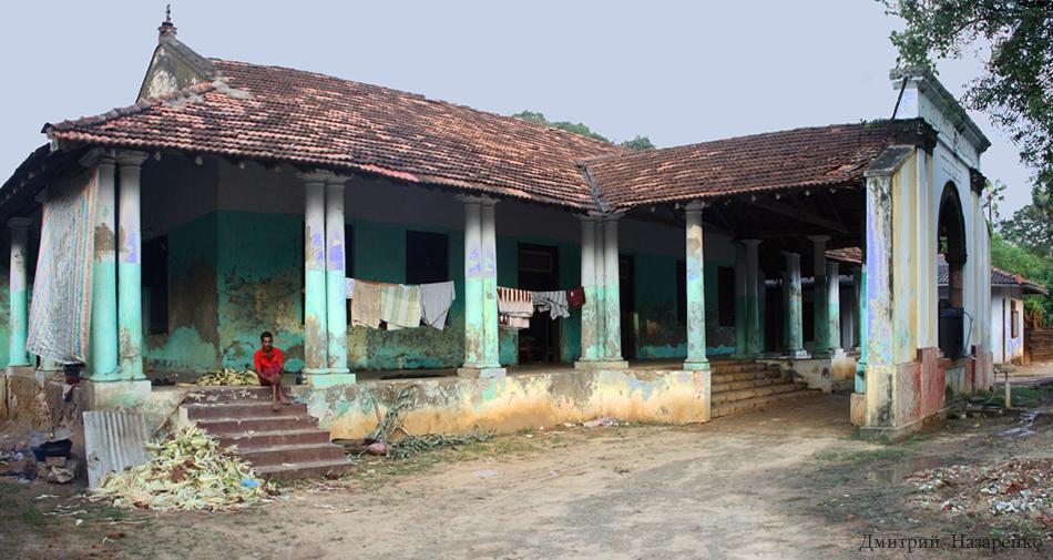 колониальный дом