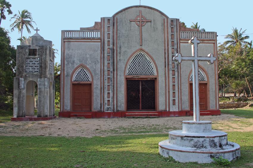 Церковь на острове Делфт мал
