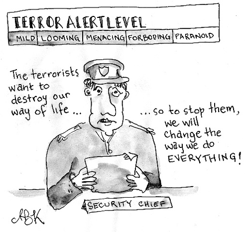 terror cartoon