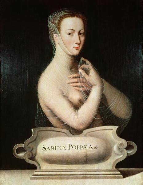Sabina_Poppaea,_Fontainebleau_school,_c.1570