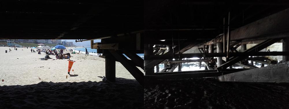стриптиз на пляже сценарий:
