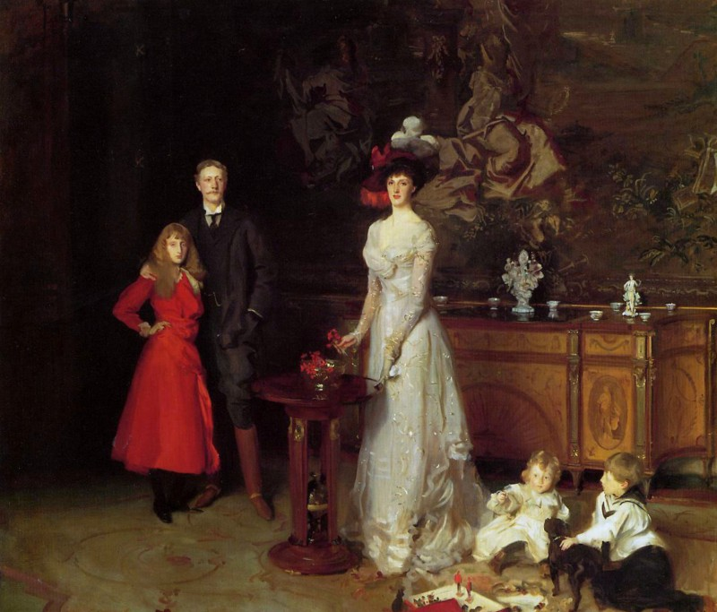 John Singer Sargent. The Sitwell Family, 1900