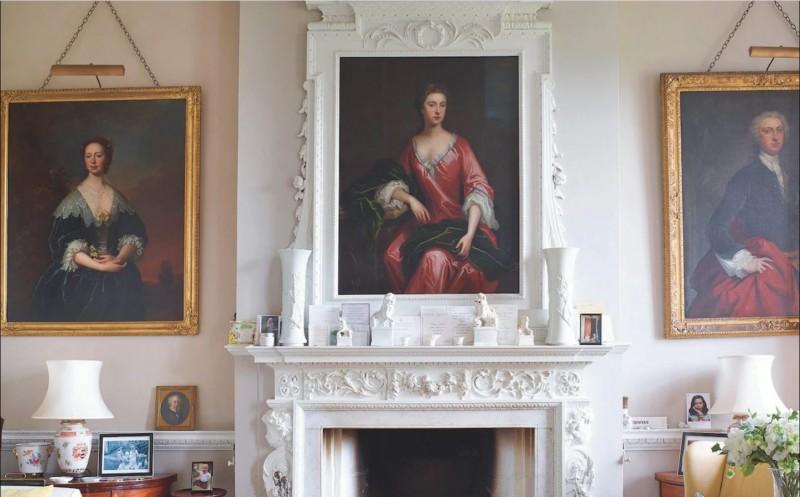 Гостиная, портрет Сюзанны Дженненс