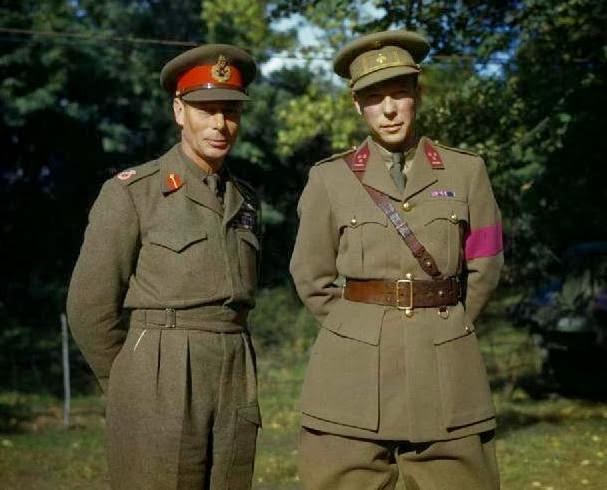Бельгийский принц-регент и британский король Георг VI