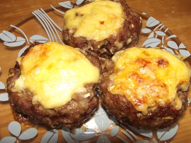 Котлеты с сыром пошаговое