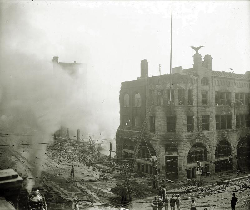 Террор в классовой борьбе, Лос-Анджелес, 1910 г.