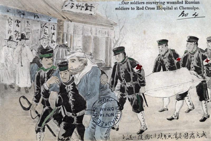 Русско-японская война открытки
