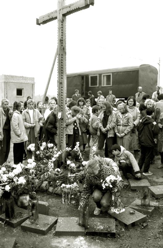 Расстрел в Мядининкай, 31 июля 1991 г.