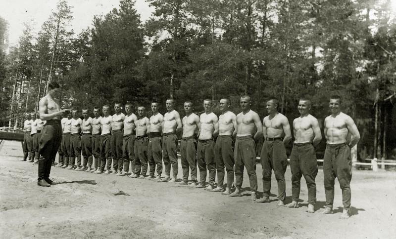 Артиллеристы, 1940 г.