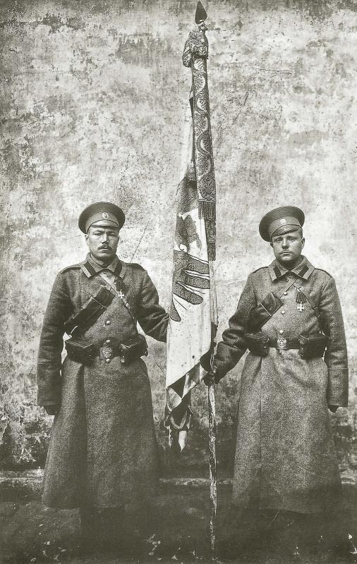 Кавалеры с трофеем, 1914 г.