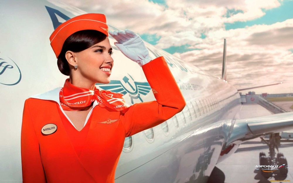 Aeroflot Air Hostess wallpaper_5