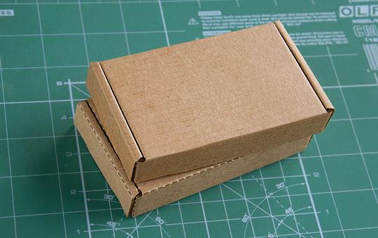 Макет коробки своими руками фото