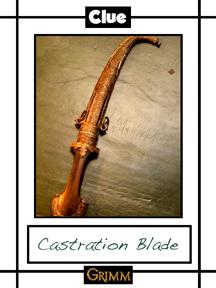 Castration Blade