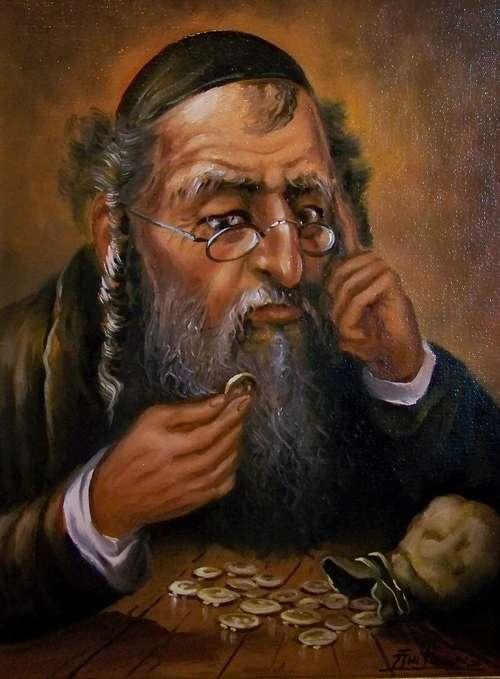 Żyd z pieniążkiem