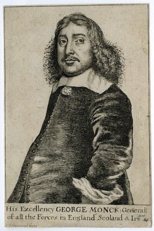 George Monck - by Richard Gaywood, 1660