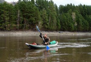 ловля рыбы на реке катунь