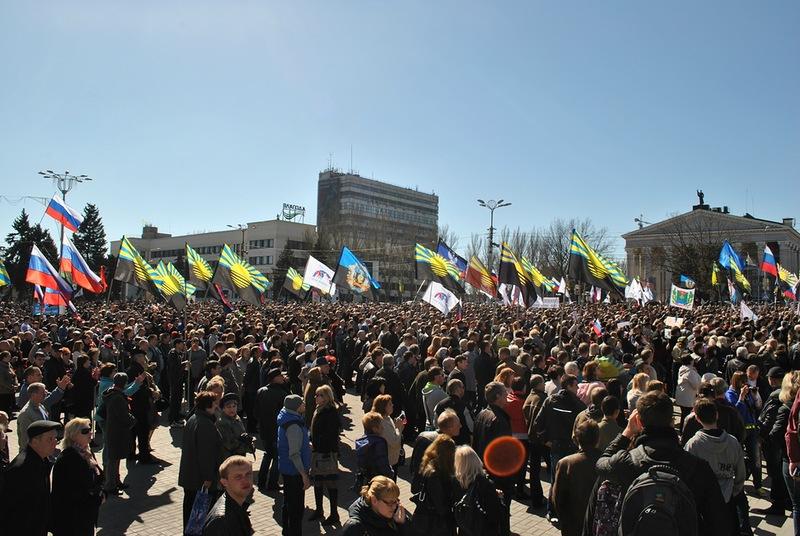 Донецк митинг 4