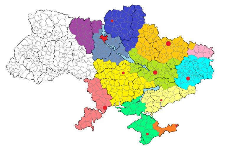 В границах Украины