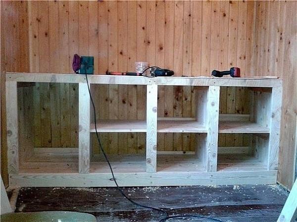 Мебель на летней кухне своими руками