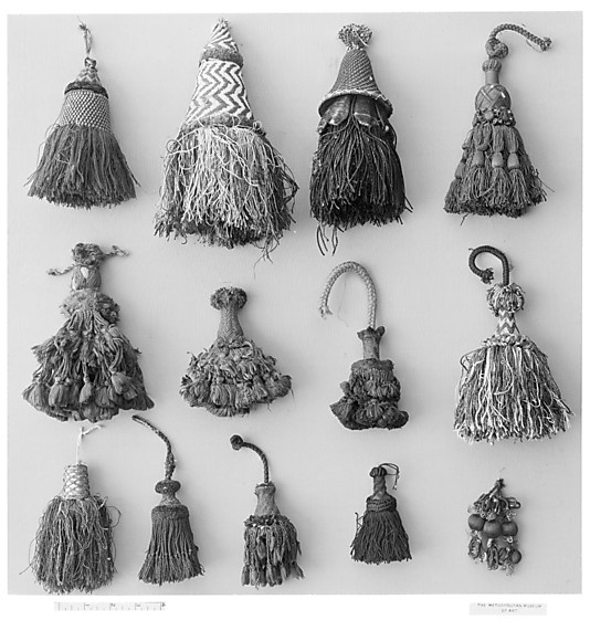 Original Tassels - late 16th, early 17th C