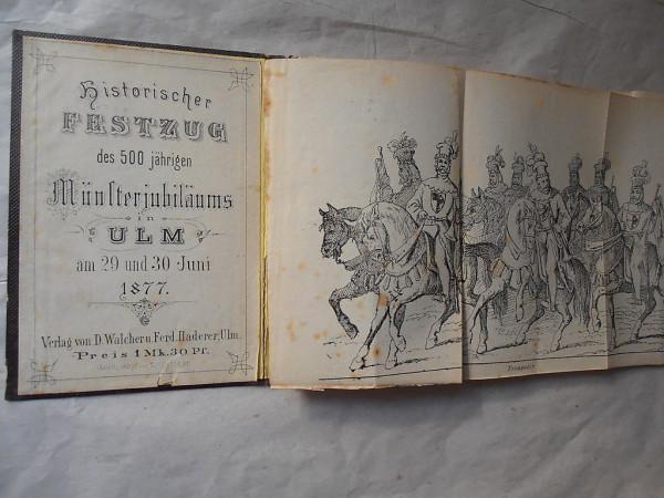 1877 Festzug Ulm booklet