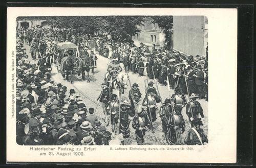 Erfurt Festzug 1902