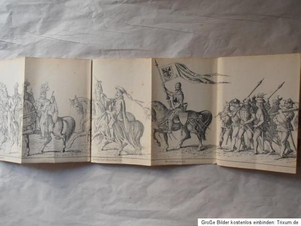 1877 Festzug Ulm booklet - inside