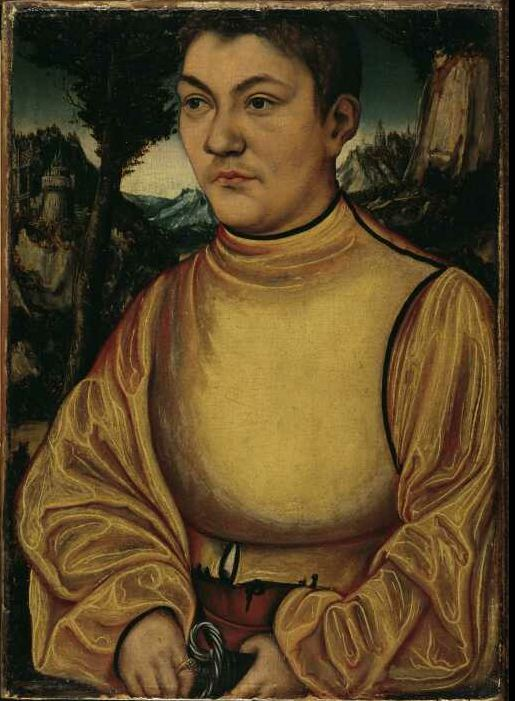 Lucas Cranach the Elder - Portrait of a Duke of Anhalt (Johann IV of Anhalt, 1504-1551)