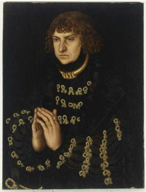Lucas Cranach the Elder - Johann the Steadfast, Elector of Saxony (about 1515)